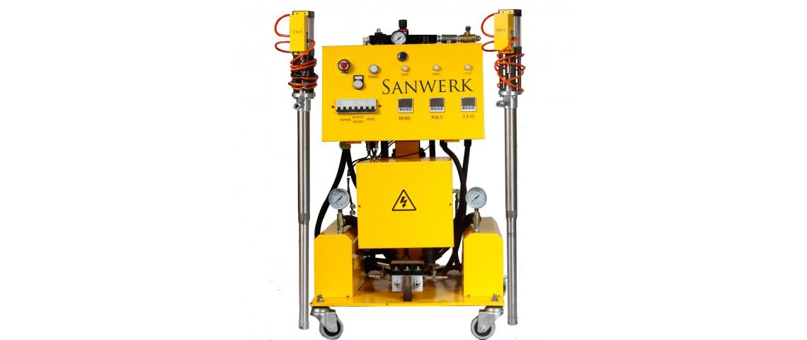 Oryginalny Agregat natryskowy Sanwerk - SW 159