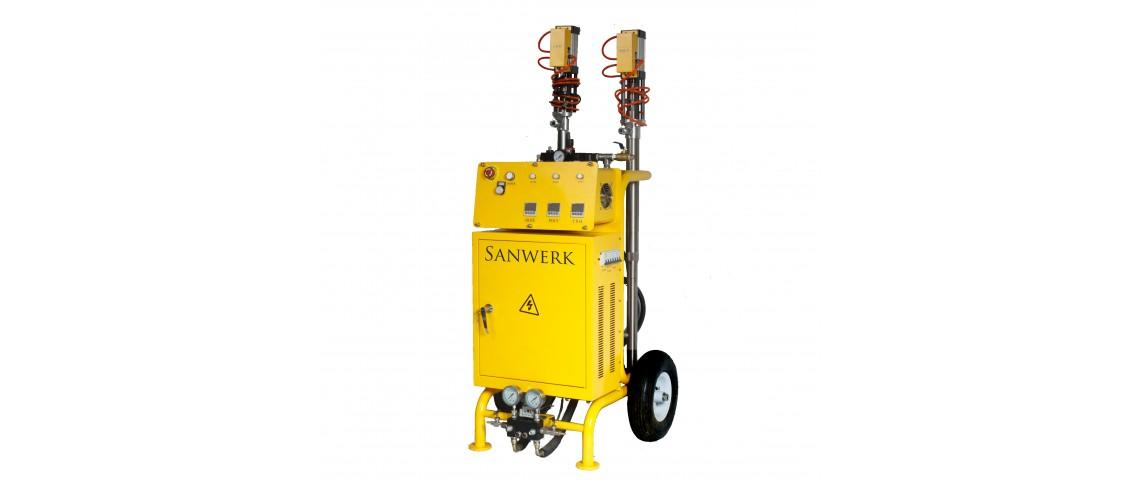 Oryginalny Agregat natryskowy Sanwerk - SW 200