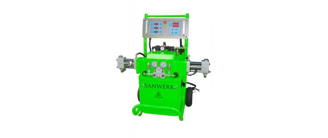 Oryginalny Agregat natryskowy Sanwerk - SW 450