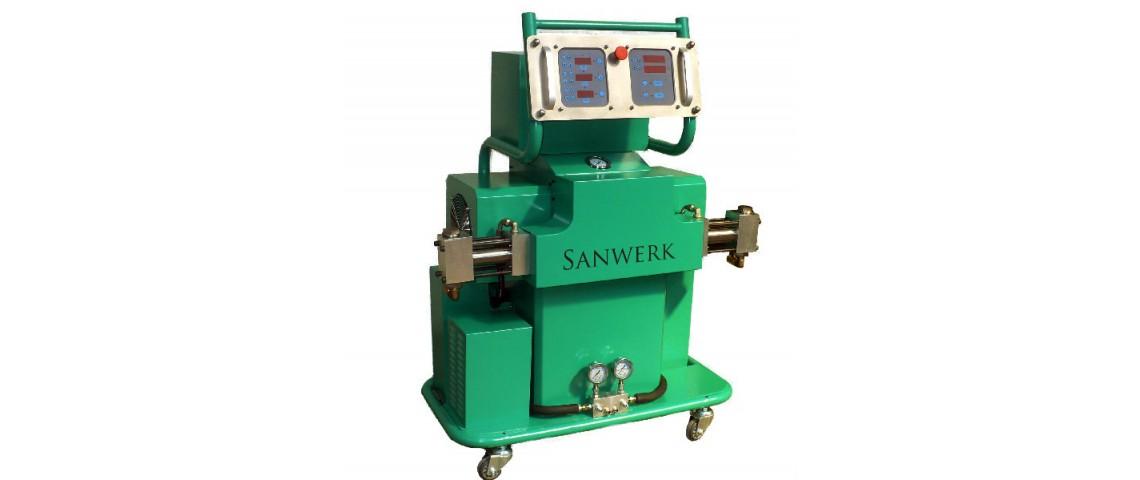 Oryginalny Agregat natryskowy Sanwerk - SW 500