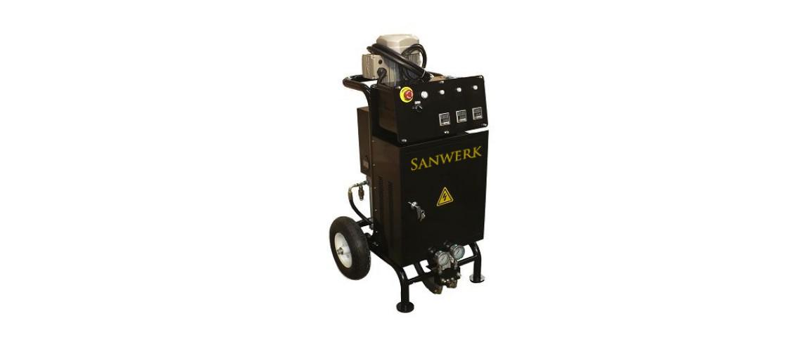 Oryginalny Agregat natryskowy Sanwerk - SW E330